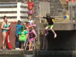 kids-take-plunge-raise-money-discovery-museum
