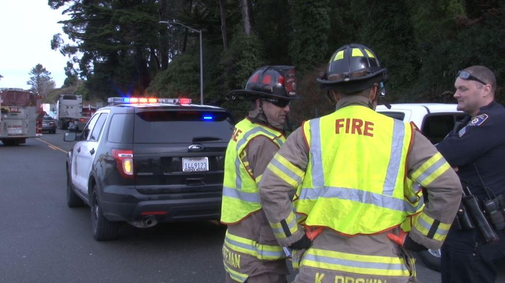 Honda Redwood City >> Minor injury crash blocks Broadway traffic in Eureka - KIEM-TV | Redwood News