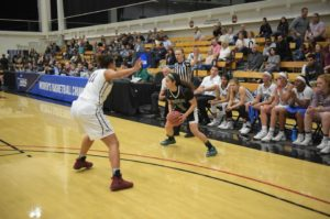 Hsu Women S Basketball Upsets Top Seed Azusa Pacific In West