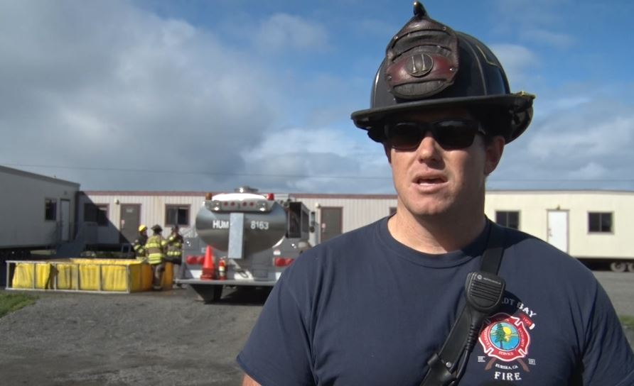 Firefighter Training: local rescuers apply classroom skills