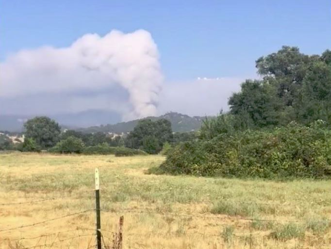 Cal Fire: Mendocino Complex fires gain 44,000 acres Friday