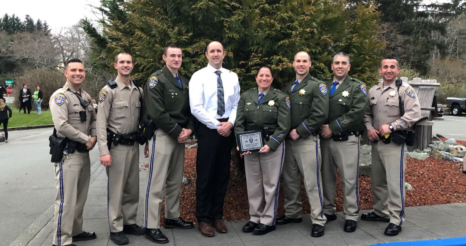 Gonzalez named CHP Officer of the Year for Crescent City