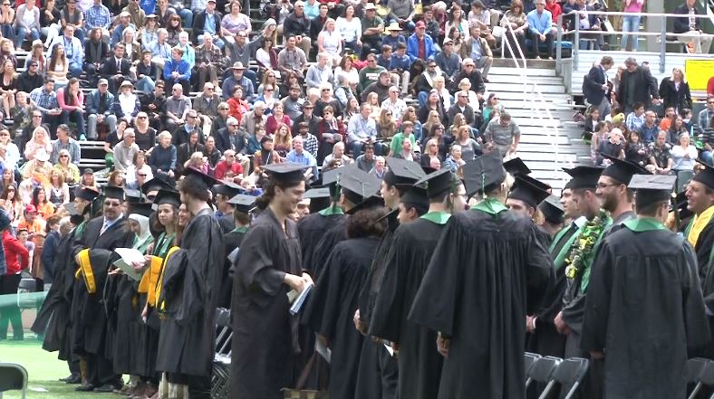 Wet Weather Ahead not Stopping Humboldt State University from ... on