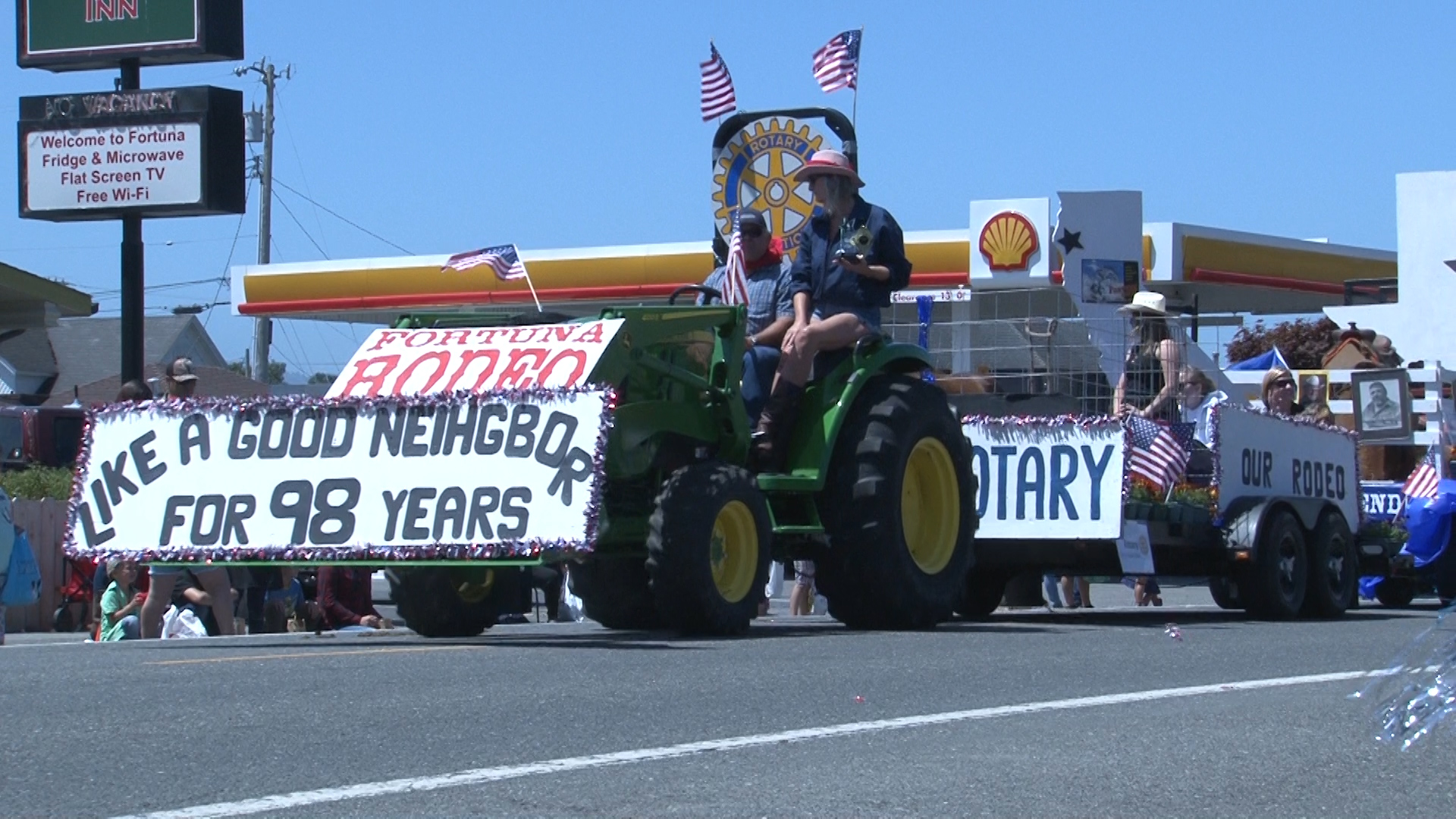 Fortuna Rodeo Celebrates 98th Year With Main Street Parade